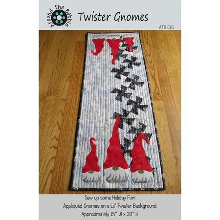Twister Gnomes Pattern by Around The Bobbin