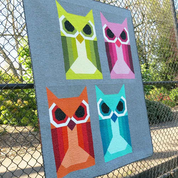 Allie Owl Pattern by Elizabeth Hartman