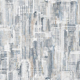 City Scene White Multi (23957 91) - City Lights by Nina Djuric for Northcott - $17.99/m ($16.60/yd)