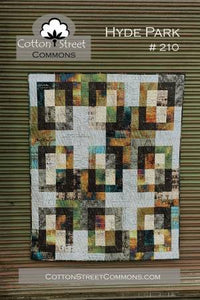 Hyde Park Quilt Pattern by Cotton Street Commons