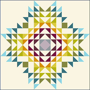 Canyon Road Quilt Kit - Designed By Giucy Giuce For Andover Fabrics