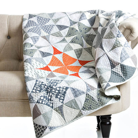 Chic Country quilt pattern by Sew Kind of Wonderful - Quick Curve