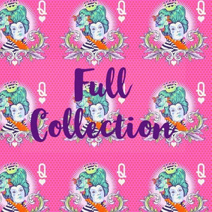 PRE ORDER - Fat Quarter Bundle (25 FQs) - Curiouser and Curiouser by Tula Pink for Free Spirit Fabrics - Arrives Late May