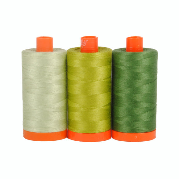 Dolomite Green - Aurifil Color Builders - 50wt