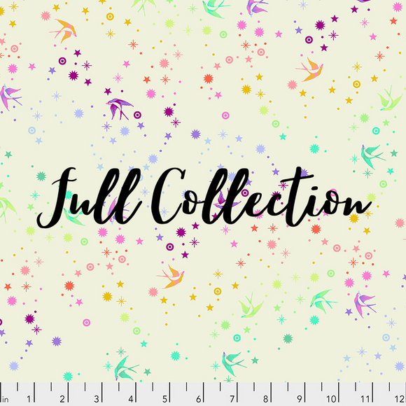 Full Collection Fat Quarter Bundle (42 FQs) - Tula's True Colors by Tula Pink for Free Spirit Fabrics