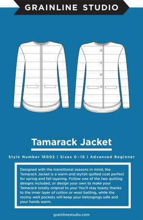Tamarack Jacket by Grainline Studio