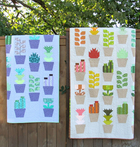 Greenhouse Pattern by Elizabeth Hartman