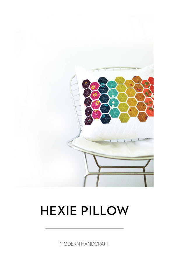 Hexie Pillow Pattern by Modern Handcraft Hexie