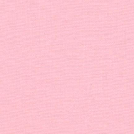 Baby Pink - Kona Cotton Solids by Robert Kaufman