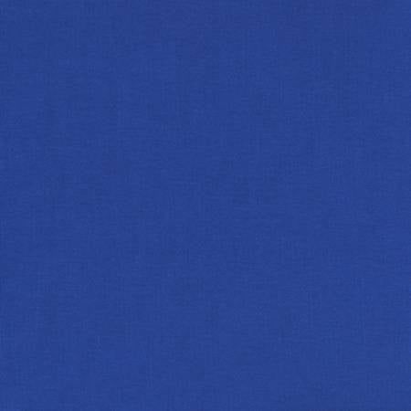 Deep Blue - Kona Cotton Solids by Robert Kaufman