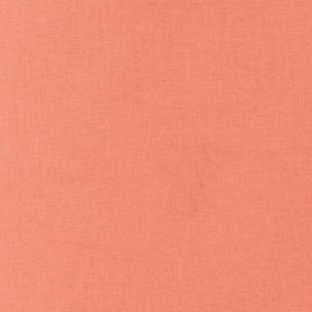 Salmon - Kona Cotton Solids by Robert Kaufman
