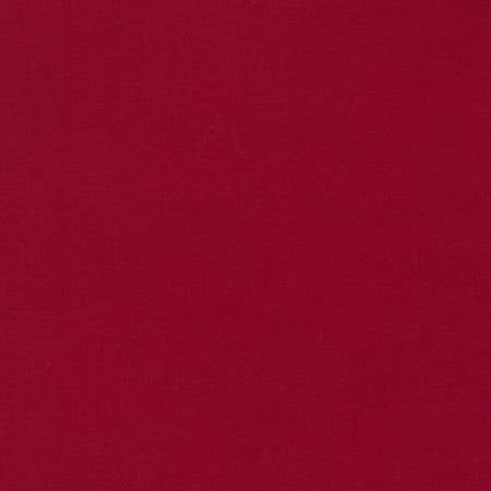 Rich Red - Kona Cotton Solids by Robert Kaufman