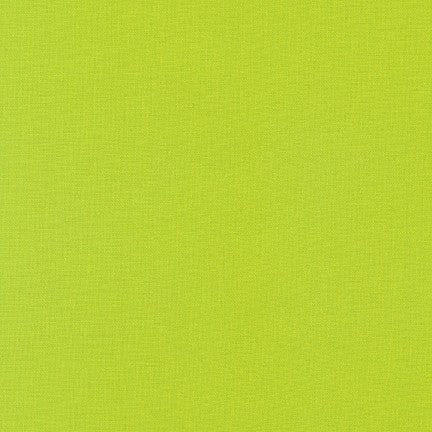Chartreuse - Kona Cotton Solids by Robert Kaufman