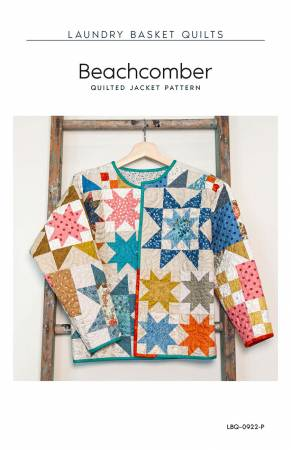 Beachcomber Quilted Jacket Pattern by Laundry Basket Quilts