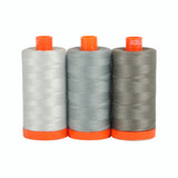 Milan Grey - Aurifil Color Builders - 50wt