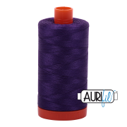 Aurifil Cotton Mako Thread - Medium Purple (2545) - Large Spool (1300m/1422yd)