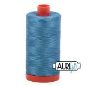 Aurifil Cotton Mako Thread - Teal (2815) - Large Spool (1300m/1422yd)