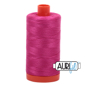 Aurifil Cotton Mako Thread - Fuchsia (4020) - Large Spool (1300m/1422yd) - BUY 2 SPOOLS for $26.99 and Save $3.00