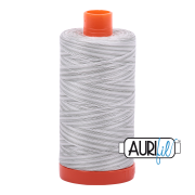 Aurifil Cotton Mako Thread - Silver Moon (4060) - Large Spool (1300m/1422yd) - BUY 2 SPOOLS for $26.99 and Save $3.00