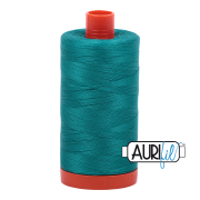 Aurifil Cotton Mako Thread - Jade (4093) - Large Spool (1300m/1422yd)