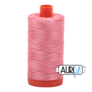 Aurifil Cotton Mako Thread - Flamingo (4250) - Large Spool (1300m/1422yd) - BUY 2 SPOOLS for $26.99 and Save $3.00