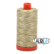 Aurifil Cotton Mako Thread - Spring Prairie (4653) - Large Spool (1300m/1422yd) - BUY 2 SPOOLS for $26.99 and Save $3.00