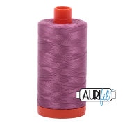 Aurifil Cotton Mako Thread - Wine (5003) - Large Spool (1300m/1422yd) - BUY 2 SPOOLS for $26.99 and Save $3.00