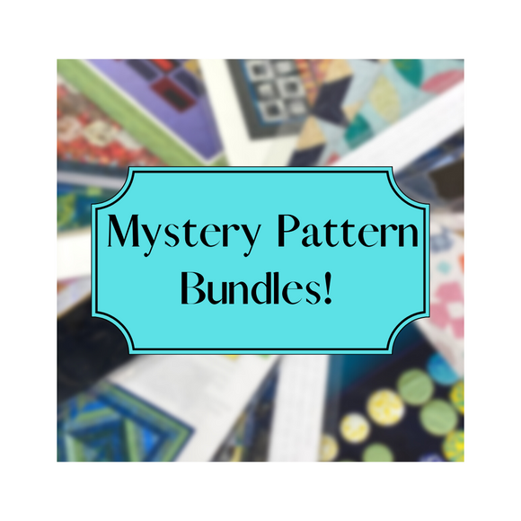 Mystery Bundles - Quilt Patterns - 5 Patterns for $20.00!