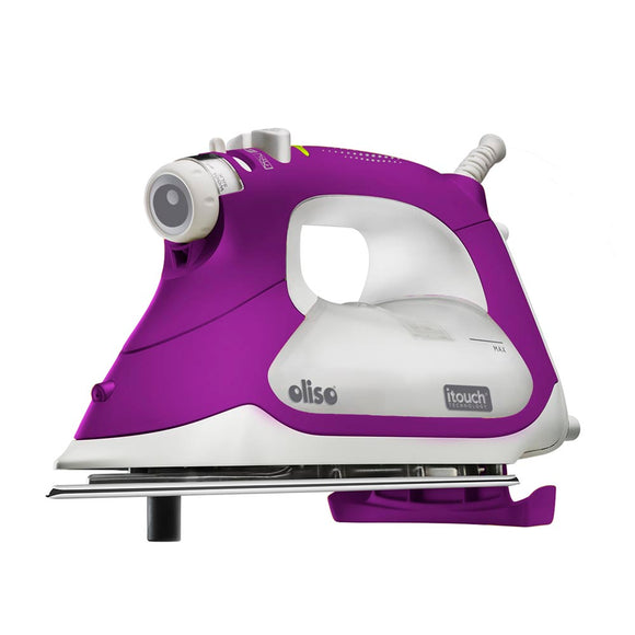 OLISO TG1100 Smart Iron - Orchid - The Ultimate Steam Lover's Iron!