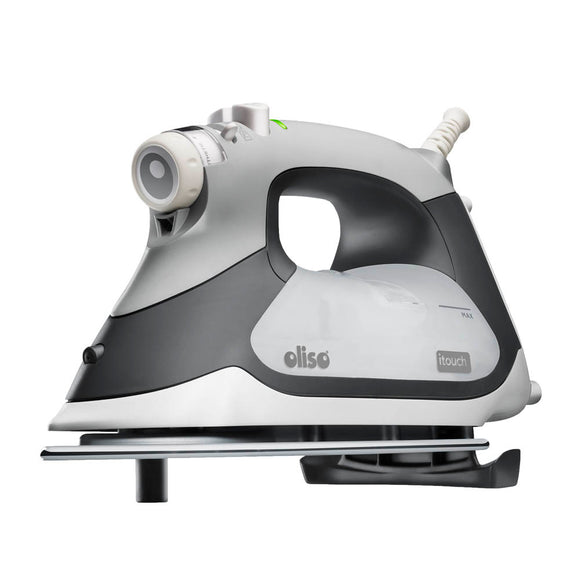 OLISO TG1100 Smart Iron - Grey - The Ultimate Steam Lover's Iron!