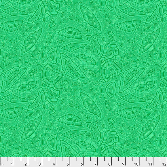 Emerald Mineral - Tula's True Colors by Tula Pink for Free Spirit Fabrics