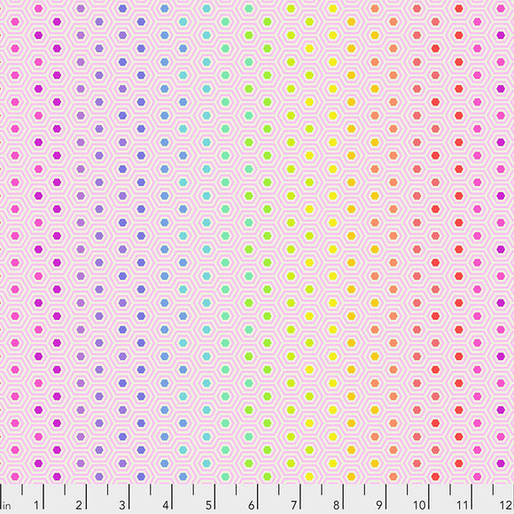 Shell Hexy - Tula's True Colors by Tula Pink for Free Spirit Fabrics - $17.99/m