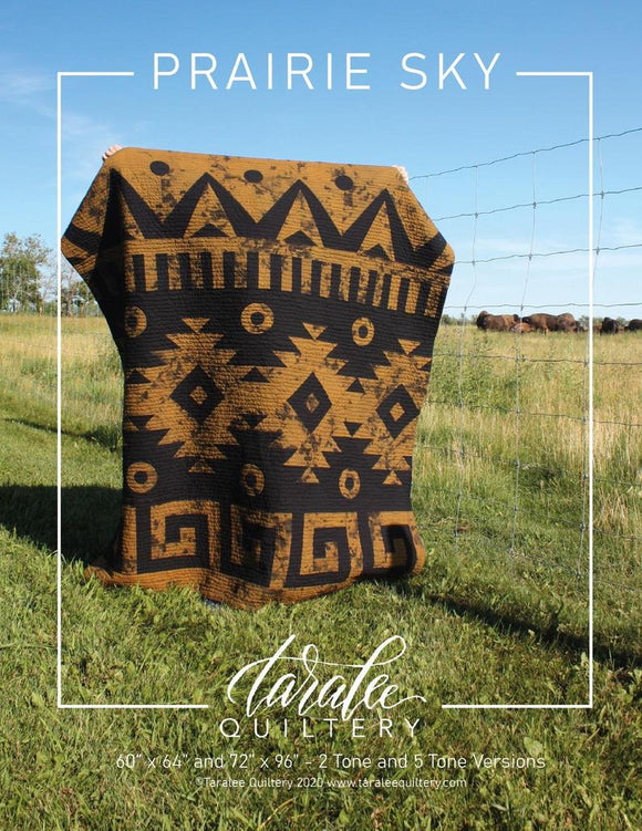 Prairie Sky Quilt Pattern by Taralee Quiltery