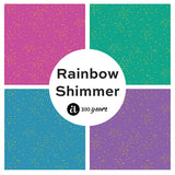 Fat Quarter Bundle (18 FQs) - Rainbow Shimmer by Andover Fabrics