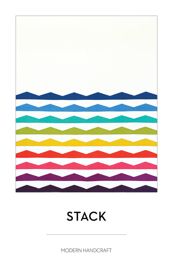 Stack Quilt Pattern by Modern Handcraft