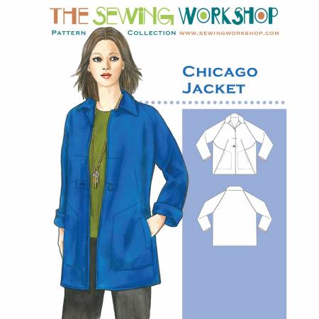 Chicago Jacket Pattern by The Sewing Workshop