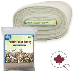 Needle Punched Fusible Cotton Batting by Pellon - H45-B - Buy The Bolt And Save!