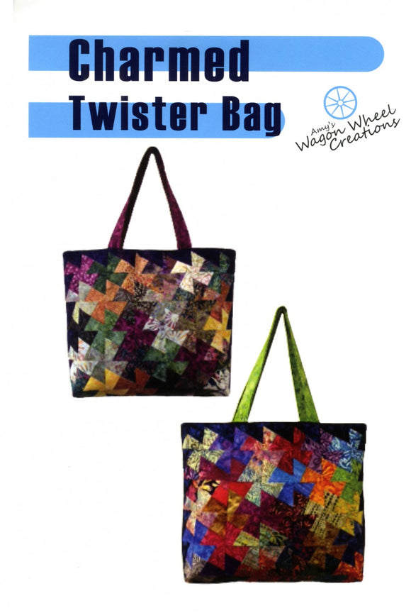 Charmed Twister Bag Pattern  by Amy's Wagon Wheel Creation