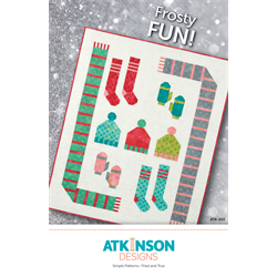 Frosty FUN! Quilt Pattern by Atkinson Designs