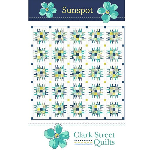 Sunspot Quilt Kit - Flowers For Freya by Linzee Kull McCray for Moda Fabrics