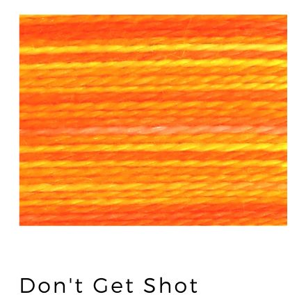 Don't Get Shot - Acorn Premium Hand-Dyed 8 wt Hand Stitching Thread - 20 yds