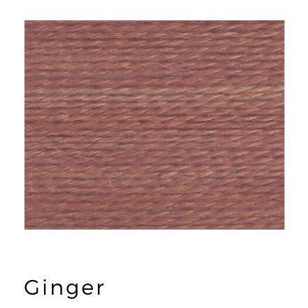 Ginger - Acorn Premium Hand-Dyed 8 wt Hand Stitching Thread - 20 yds