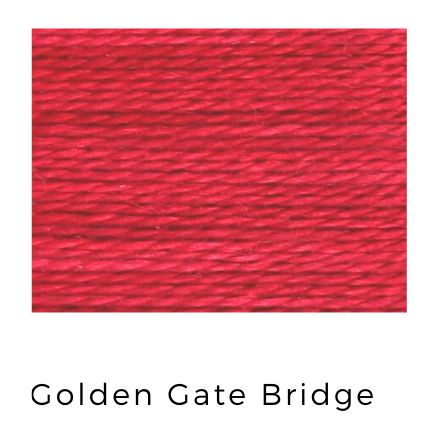 Golden Gate Bridge - Acorn Premium Hand-Dyed 8 wt Hand Stitching Thread - 20 yds