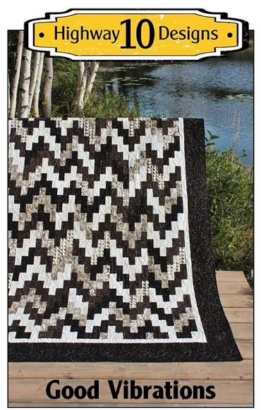 Good Vibrations Quilt Pattern by Highway 10 Designs