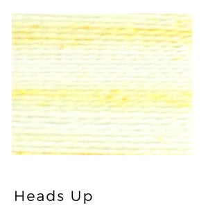 Heads Up - Acorn Premium Hand-Dyed 8 wt Hand Stitching Thread - 20 yds