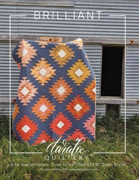Brilliant Quilt Pattern by Taralee Quiltery