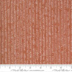 Rust (5131-16) - Smoke and Rust by Lella's Boutique for Moda Fabrics - $19.99/m ($18.45/yd)