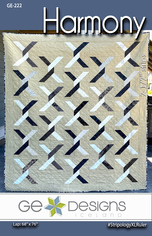 Harmony Quilt Pattern by Gudrun Erla for GE Designs