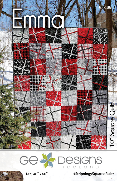 Emma Quilt Pattern by Gudrun Erla for GE Designs - Uses 10