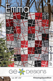 "Emma Quilt Pattern by Gudrun Erla for GE Designs - Uses 10"" Squares (Layer Cakes)!"
